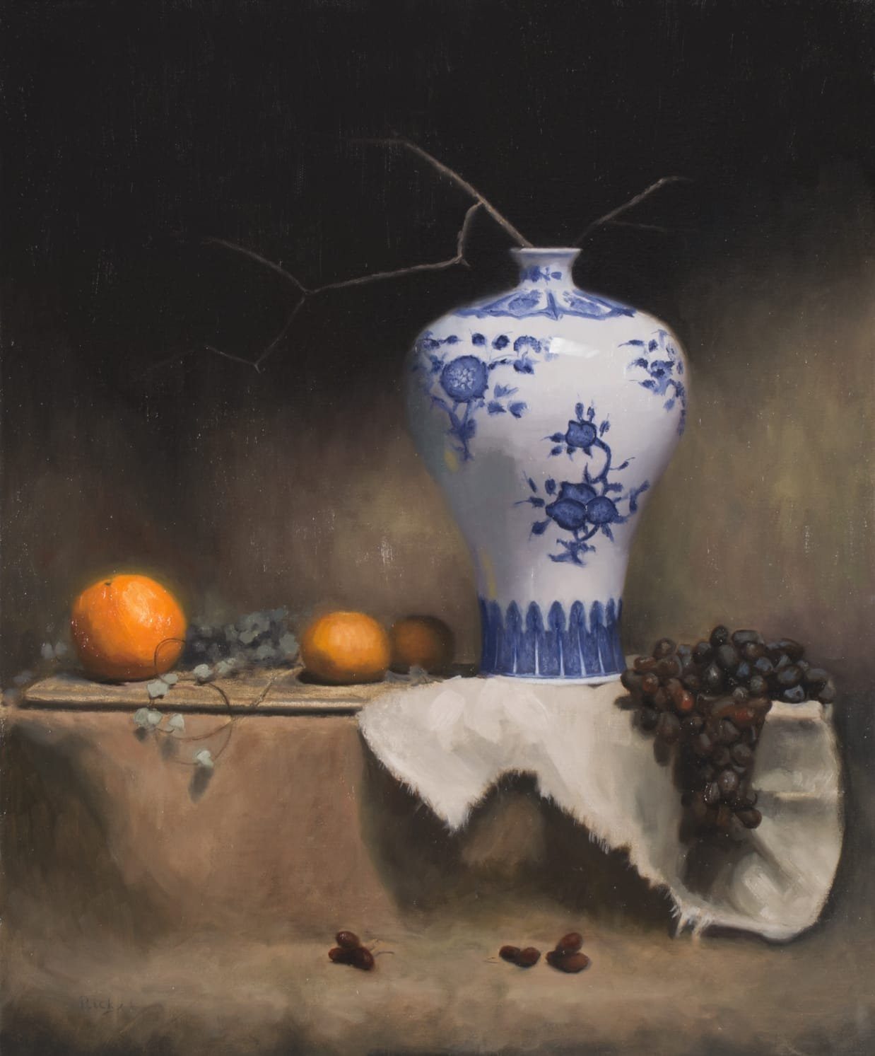 """ Oranges & Grapes "" (sold)"